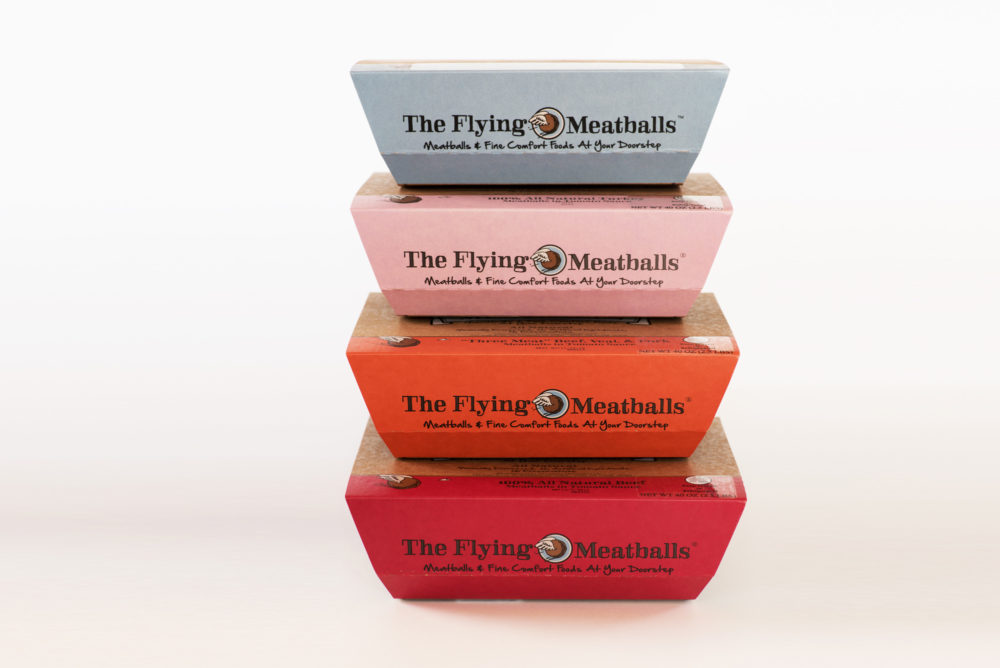 Our Line of Flying Meatballs
