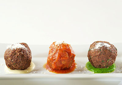 Three Meatballs